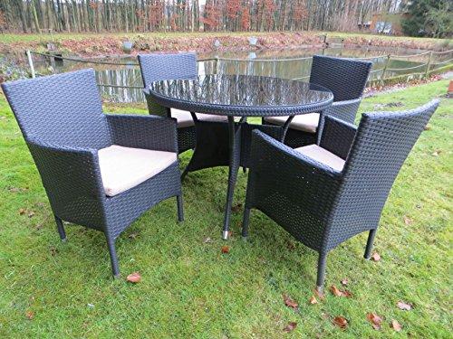 10 teilige hochwertige polyrattan gartenm bel gruppe pure. Black Bedroom Furniture Sets. Home Design Ideas