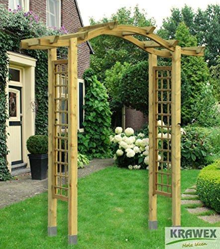 pergola rosenbogen rankhilfe holz torbogen 200x230x75. Black Bedroom Furniture Sets. Home Design Ideas