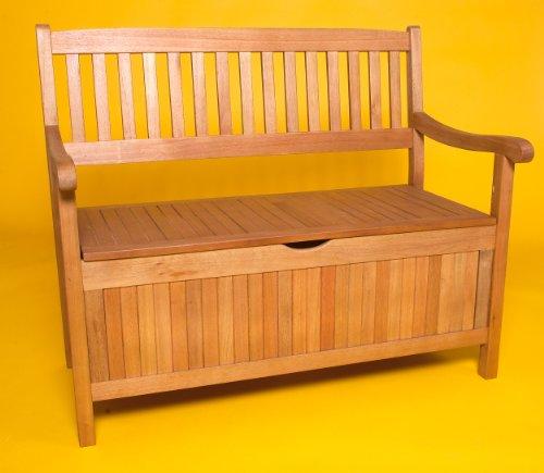 truhenbank greena 3 sitzer aus eukalyptus floristikvergleich. Black Bedroom Furniture Sets. Home Design Ideas