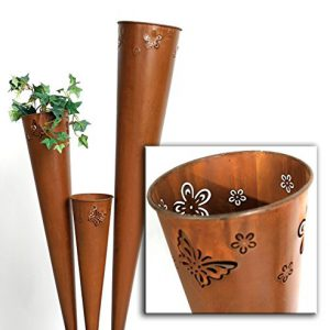 Gartendeko rost floristikvergleich for Rost metall deko